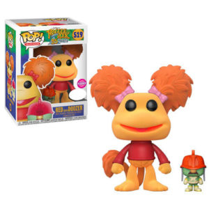 Fraggle Rock with RED FLOCKED
