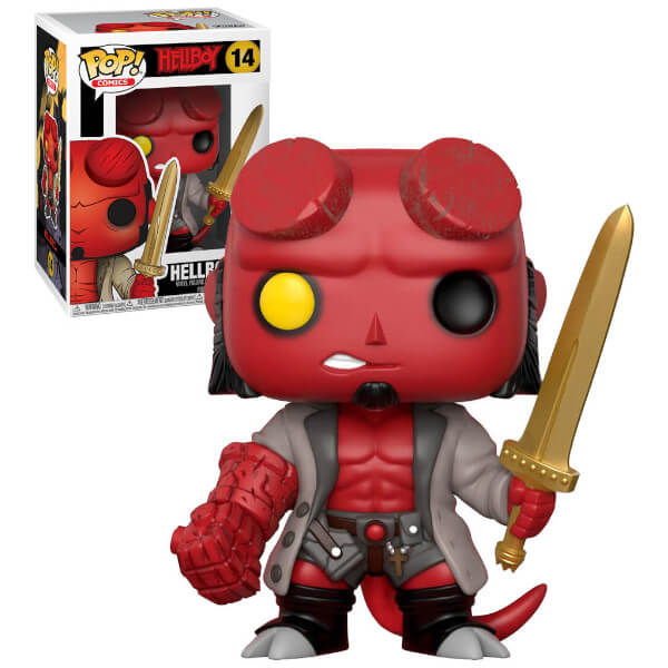Hellboy with SWORD EXC